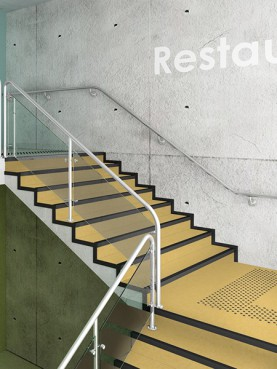 Tapiflex Stairs Kraft Yellow