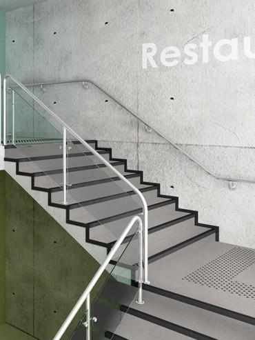 Tapiflex Stairs Concrete  Cool Grey
