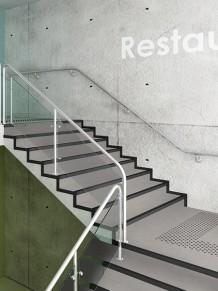 Гетерогенные ПВХ покрытия Tapiflex Stairs Concrete  Cool Grey
