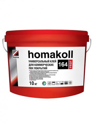Клей для ПВХ покрытий Homakoll 164 10кг.