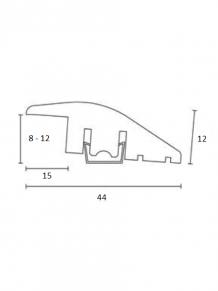 Пороги выравнивающие Tarkett Oak 8-12мм