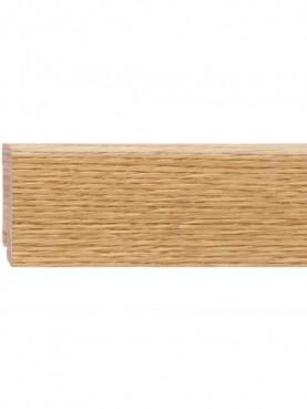 Плинтус шпонированный 60*16мм Oak