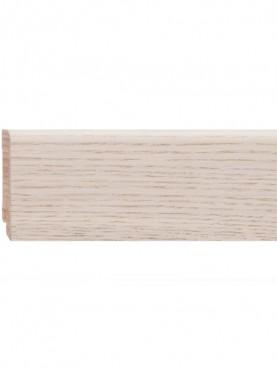 Плинтус шпонированный 60*16мм Oak Nordic