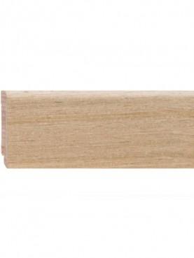 Плинтус шпонированный 60*16мм Oak Fine Line