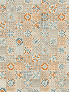 Starfloor Click 30 & 30 PLUS Retro Orange Blue
