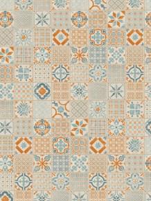 Виниловая плитка Starfloor Click 30 & 30 PLUS Retro Orange Blue