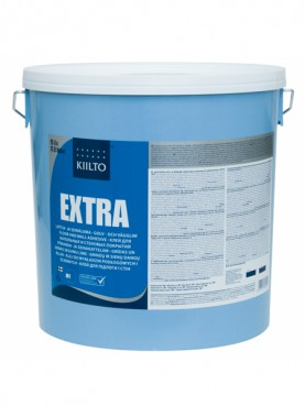 Клей для ПВХ и ковровых покрытий Kiilto Extra 1 л.