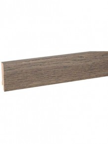 Плинтус шпонированный Clipstar Oak Stone Grey
