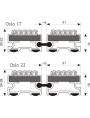 Polmar Oslo - размеры