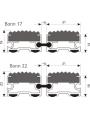 Polmar Bonn - размеры